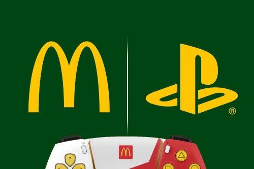 McDonald's présente sa DualSense PS5 en édition limitée, et se prend un stop par Sony
