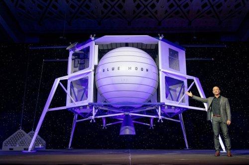 Bezos offre 2 milliards de $ à la NASA pour aller sur la Lune