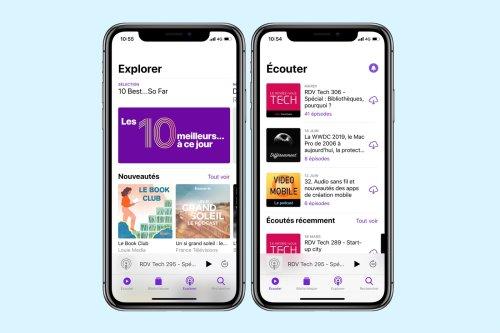 Apple Podcast est le pire service d'Apple, jusqu'à quand ?