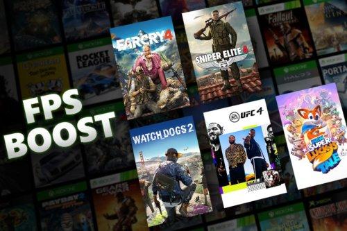 Xbox Series X : Voici la liste (complète) des jeux améliorés avec le FPS Boost