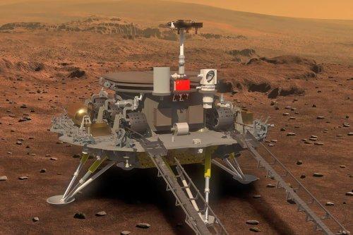 Historique: la Chine réussit à poser son rover sur Mars