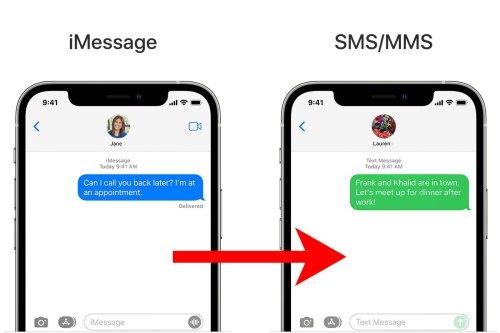 iPhone: comment envoyer un SMS normal à la place d'un iMessage