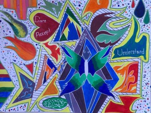 Art challenge delivers creative kids