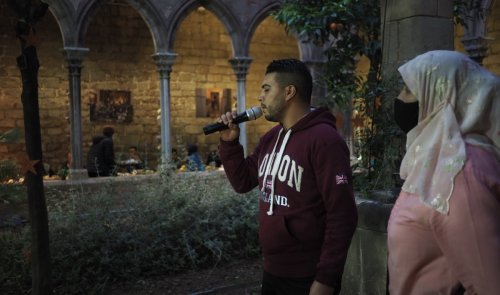 This medieval Catholic church in Spain hosts iftar meals during Ramadan