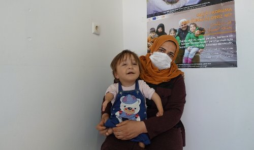 She survived a chemical attack in Syria. But could her baby have been impacted?
