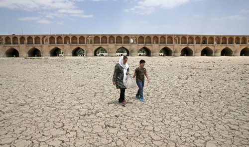 Iran's 'system is essentially water bankrupt,' says environmental expert