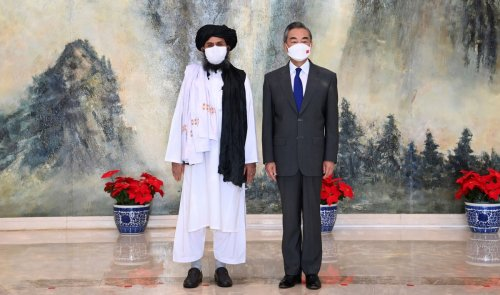 China holds high-level talks with the Taliban