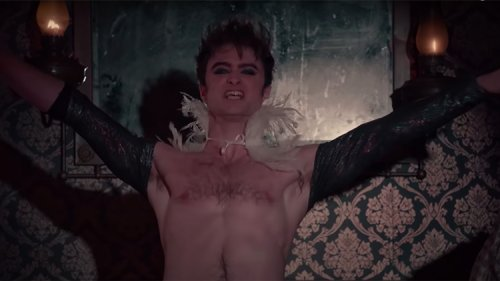 Stop What You're Doing & Watch Daniel Radcliffe Vogue in Chaps