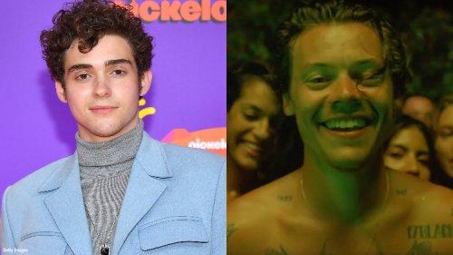 'High School Musical's Joshua Bassett Thinks Harry Styles Is Hot