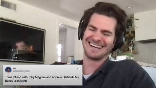 Yes, Andrew Garfield Already Knows What a 'Bussy' Is