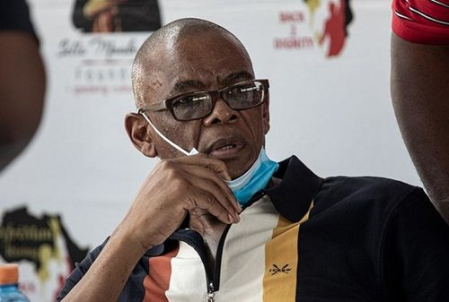 Suspended ANC secretary-general Magashule booted from NEC meeting