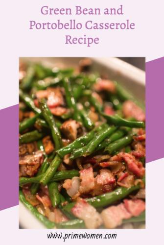 Green Bean and Portobello Casserole Recipe