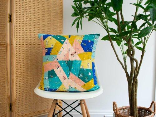 Crazy Quilt Pattern + Tutorial | LoveCrafts