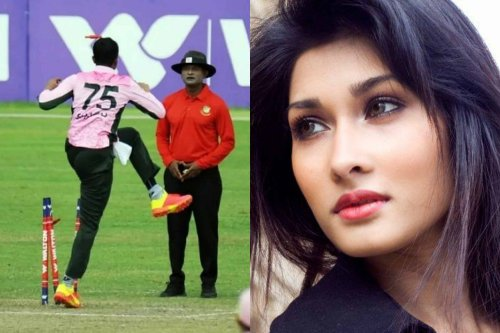 """""""Plot Against Shakib To Portray Him As The Villain"""" – Shakib Al Hasan's Wife Reacts After Controversial On-Field Action"""