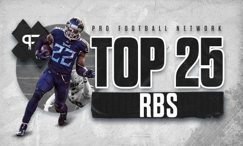 Top 25 running backs heading into the 2021 NFL season