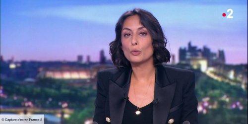 """Leïla Kaddour interrompt son JT pour livrer un """"message personnel"""" : """"Merci pour ton humour et ta tendresse"""" (VIDEO)"""