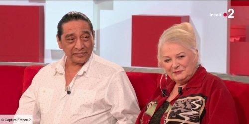 """""""Il y a des choses qui sont écrites"""" : Josiane Balasko et son mari George Aguilar se souviennent de leur rencontre dans Vivement dimanche (VIDEO)"""