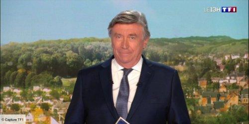 """Jacques Legros au bord des larmes dans le JT de 13h de TF1 : """"Je ne peux pas refermer ce journal sans vous dire ma tristesse"""""""