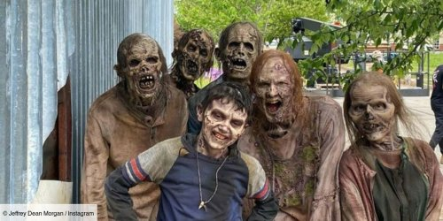 The Walking Dead : Jeffrey Dean Morgan (Negan) et Hilarie Burton sont fiers de leur fils Gus, pour son rôle dans la série