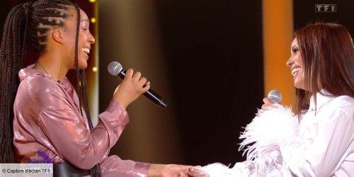 Duos mystères : Amel Bent fond en larmes en découvrant qu'elle chante avec sa soeur May