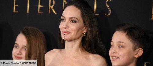 Angelina Jolie et ses enfants réunis à l'avant-première du film Les Éternels (PHOTOS) - cinema - Télé 2 semaines