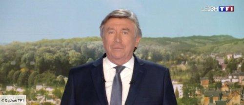 Jacques Legros ému aux larmes à la fin du JT de 13h de TF1 pour saluer le départ d'un collègue - actu - Télé 2 semaines