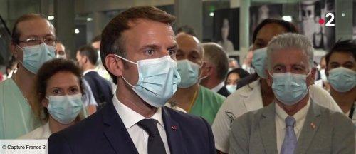"""Emmanuel Macron tacle """"l'irresponsabilité"""" et """"l'égoïsme"""" des anti-vaccins (VIDEO) - videos - Télé 2 semaines"""