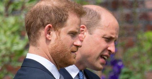 Körpersprachexpertin: So denken Harry und William über ihren Opa
