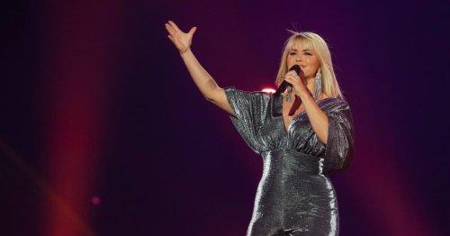 """""""Schlagerbooom"""" 2021: Beatrice Egli im sexy Glitzer-Jumpsuit"""