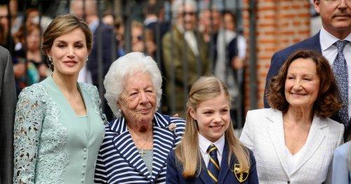 Trauer bei den Royals: Königin Letizias Oma mit 93 Jahren verstorben