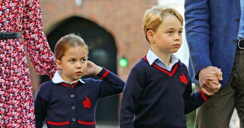 Diesen Nachnamen verwenden George und Charlotte in der Schule