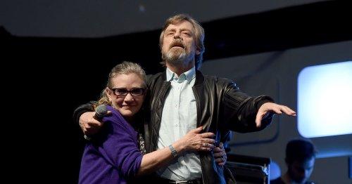 """Besondere Ehrung: Mark Hamill gedenkt """"Star Wars""""-Carrie Fisher"""