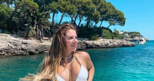 Jenny Frankhauser: Heiße Bikini-Show bei Bootsausflug