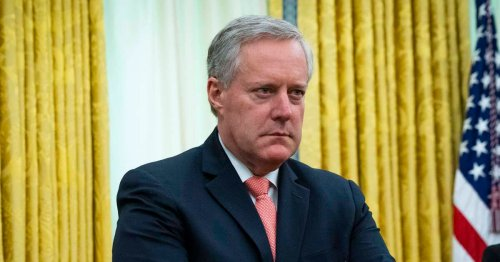 January 6 Select Committee Subpoenas Trump Chief of Staff Mark Meadows and Other Top Aides