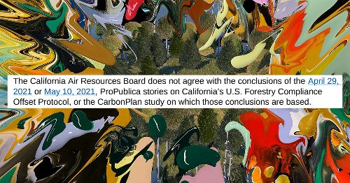 The California Air Resources Board Challenges Our Carbon Credits Investigations. We Respond.