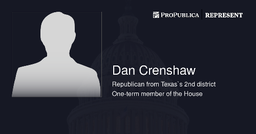 Learn more about Dan Crenshaw (R-Texas)