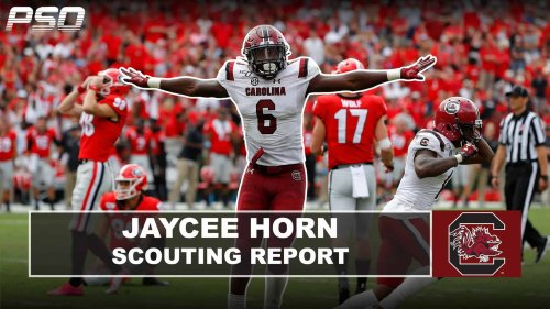 PSO Scouting Report: CB Jaycee Horn (South Carolina)