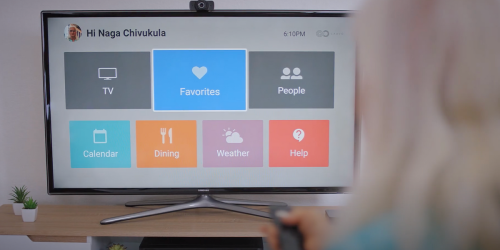 Caavo built a universal TV remote. Now, it wants to help you stay in touch with Grandma.