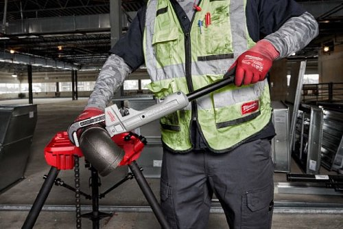 Milwaukee Aluminum Cheater Adaptable Pipe Wrench | Pro Tool Reviews