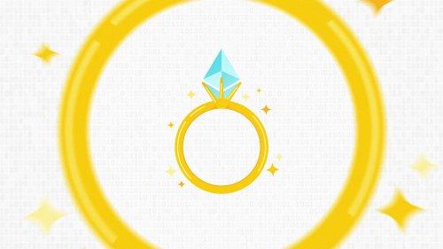 Coinbase lovebirds mint NFT rings for Ethereum wedding