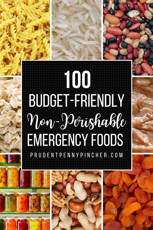100 Budget-Friendly Non-Perishable Foods