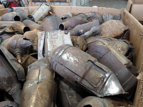 There's Big Money In Stolen Catalytic Converters