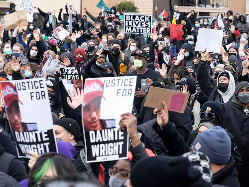Protests Grow In Minnesota And Around U.S. Over Death of Daunte Wright