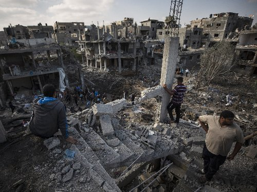 'This Is Not Yet Over,' Netanyahu Says, After Israel Hits Urban Areas Of Gaza