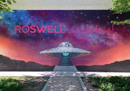 The Truth Is (Still) Out There In 'UFO Capital' Roswell, New Mexico