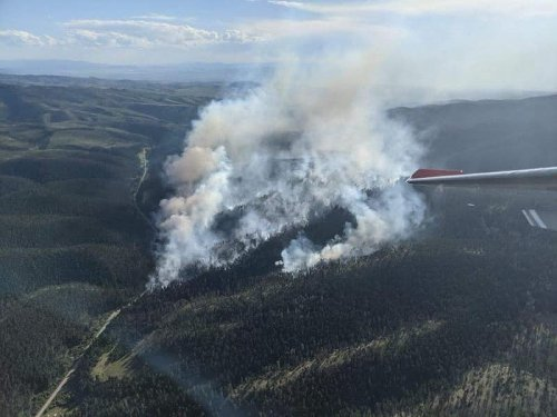 Crews Are Working A 174 Acre Wildfire Near Townsend