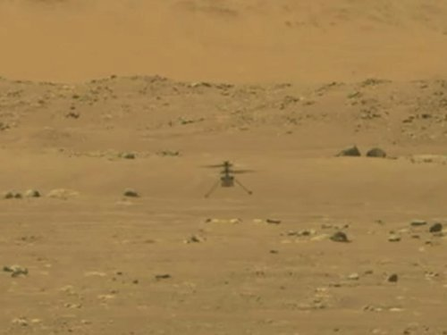 Success! NASA's Ingenuity Makes First Powered Flight On Mars
