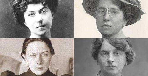 Cuatro historias de cuatro heroínas de la Revolución rusa