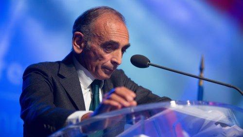 Sondage : Éric Zemmour en tête des personnalités politiques les plus rejetées