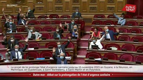 Outre-mer : le Sénat vote la prorogation de l'état d'urgence jusqu'au 15 novembre